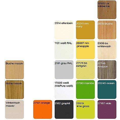 inForm WePure-Farben