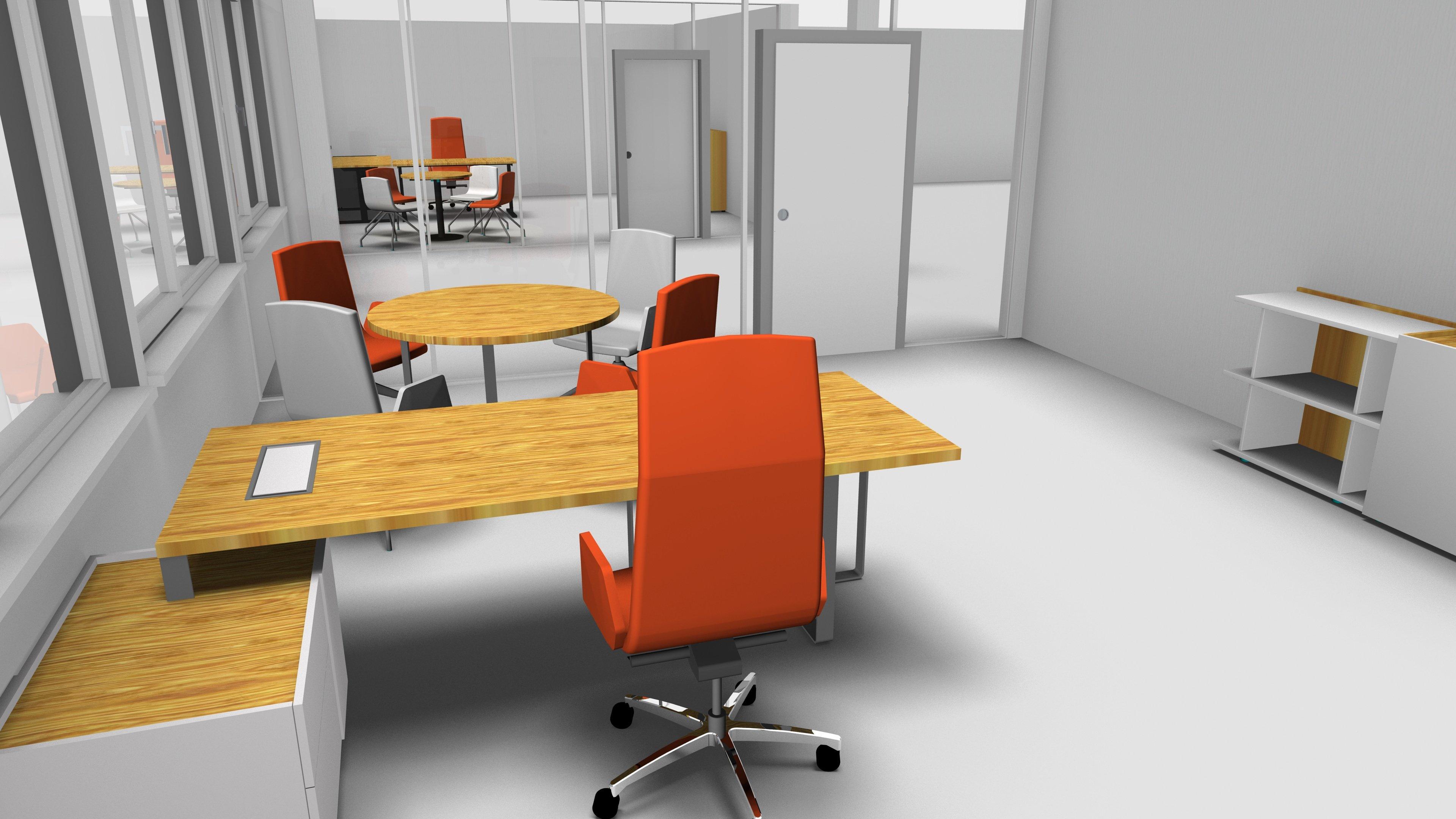 OG 4 Einzelbüro Chefplatz