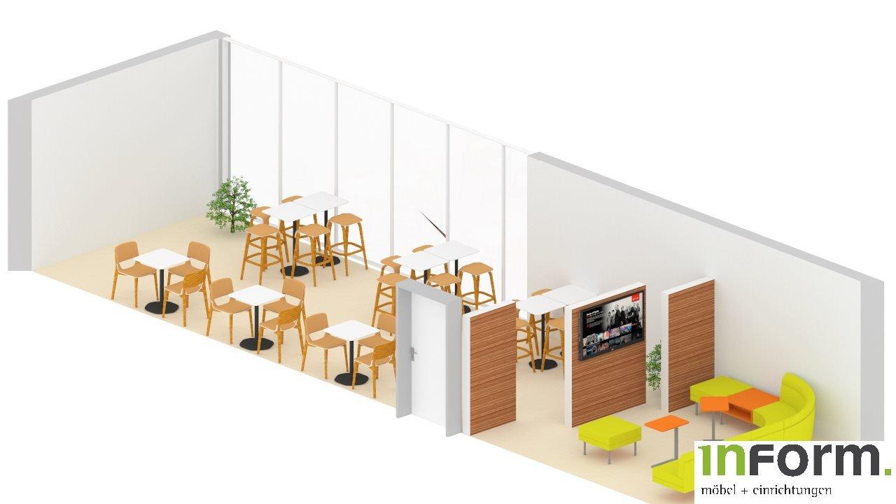 Plan Cafeteria und Lounche 3 von Lounche